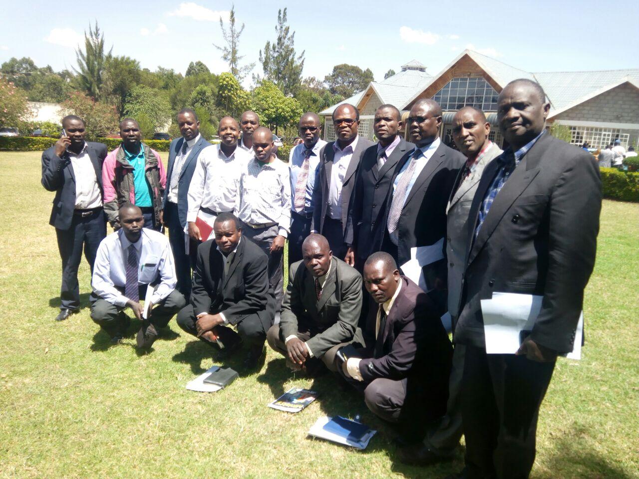 Eldoret West  Station Team