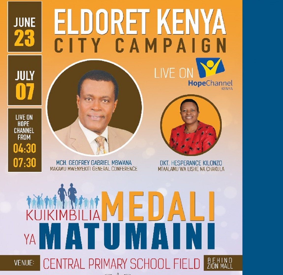 Eldoret City Evangelistic Campaign