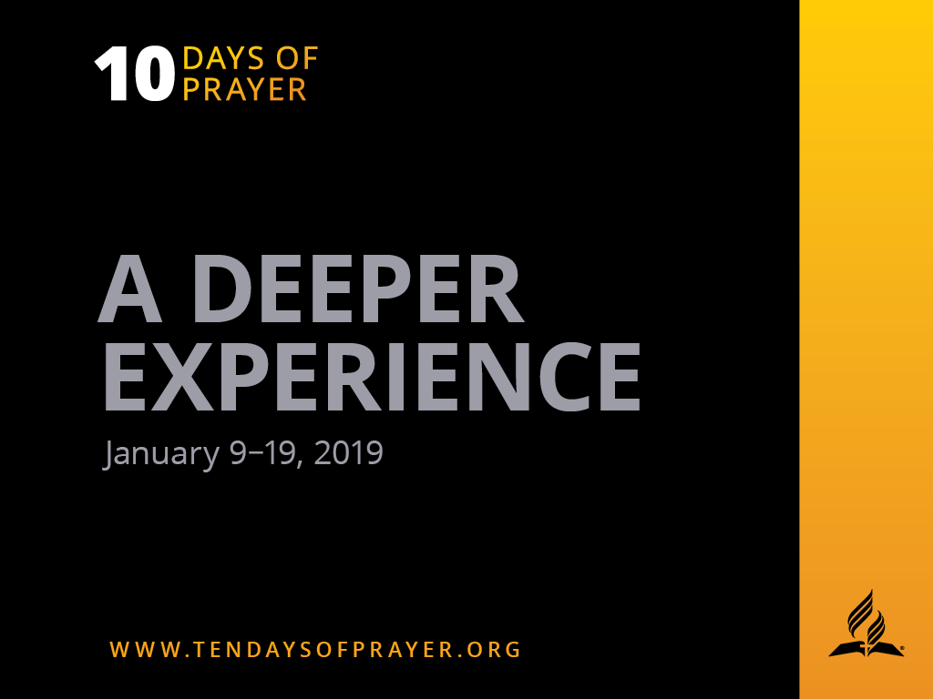 Ten Days Of Prayer 2019