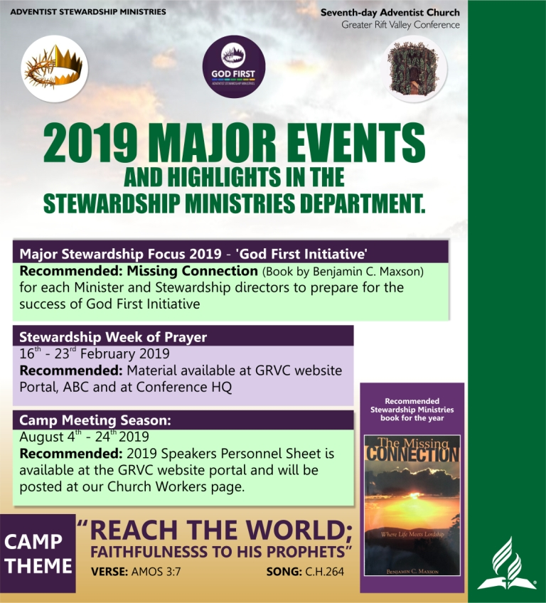 Stewardship Events 2019